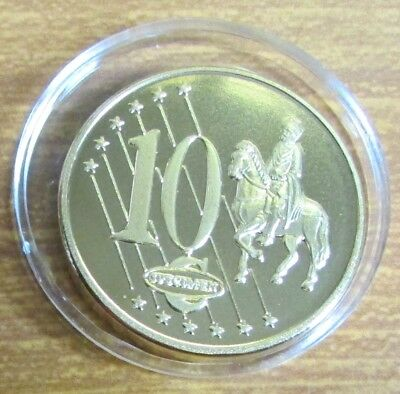 2009 Vatican City / Holy See / Papal State Proof Trial Specimen 10 Cent Coin