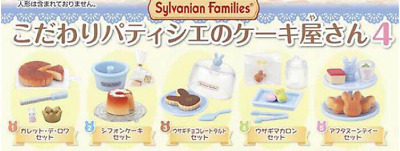 Sylvanian Families CAPSULES TOY CAKE SHOP 5pc set Ver4 Calico Critters