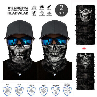 Ski Cycling Snood Hiking Balaclava Neck Tube Scarf Headwear Biker Face Mask