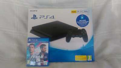 Console Sony PlayStation 4 SLIM + FIFA 19 - PS4 Slim 500 GB - Usata