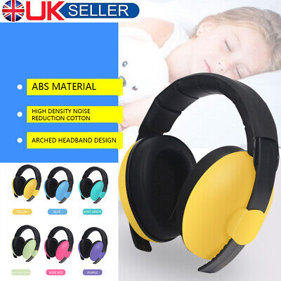 Kids Girls Boys Ear Defenders Baby Noise Cancelling Headset Headphone Safety CH