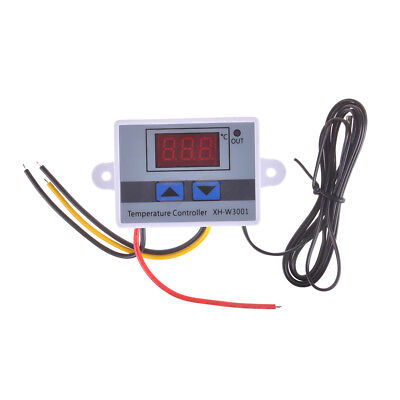 XH-W3001 12V 24V 220V Digital Temperature Thermostat Control Switch Probe nFEH