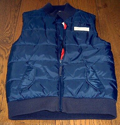 Country Road Boys Navy Puffer Vest Sz 9