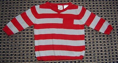 Seed Baby Boys Fine Cotton Knit Top Sz 3 - 6 Months