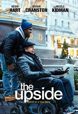 The Upside NEW DVD Bryan Cranston, Nicole Kidman, Kevin Hart, Julianna Margulies