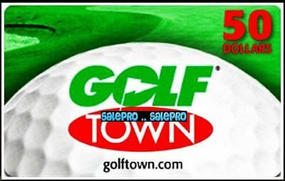 Golf Town Canada Golf Lovers & Players Center Bilingual Collectible Gift Card