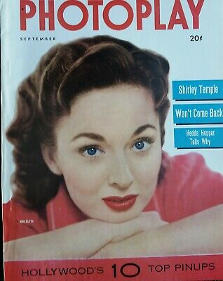 SHIRLEY TEMPLE COVERS Photoplay Magazine September 1952