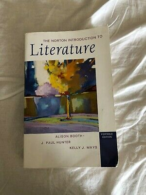 The Norton Introduction to Literature (2006, CD-ROM / Paperback)