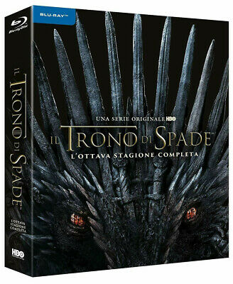 IL TRONO DI SPADE 8 STAGIONE FINALE (3 Blu-ray Disc Digipack) GAME OF THRONES 8