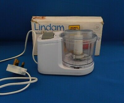Lindam Mini Food Blender Baby Weaning