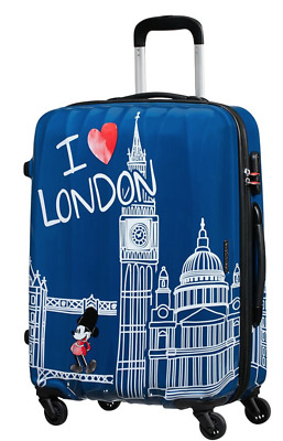 f5fedc581bd SPINNER MEDIO AMERICAN TOURISTER 19C.061.007 take me away mickey london  DISNEY