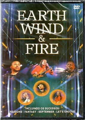 Earth, Wind & Fire DVD Brand New Sealed Ultra Rare