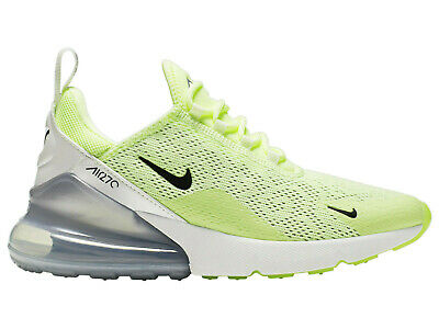 8266eb2a90 Womens Nike Air Max 270 Training Shoes Trainers Barely Volt/Black Size 5