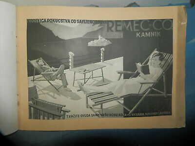 rare -vintage -catalog of old furniture Remec Kamnik- Slovenia