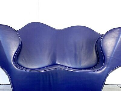 leather two seater chair Moroso Double Soft Big Easy sofa design Ron Arad 1991
