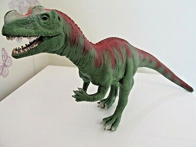 "Large  Ceratosaurus 14"" Dinosaur Toy Figure  Early Learning Centre Elc"
