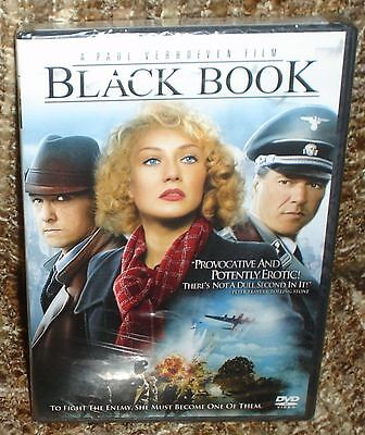 Black Book Dvd, New And Sealed, A Paul Verhoeven Film, Special Features
