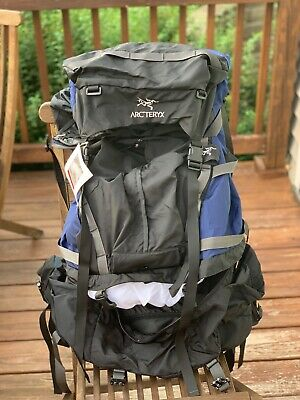 587c8f65cda ARC'TERYX BORA 65 Large Hiking Expedition Backpack (Red and Black ...