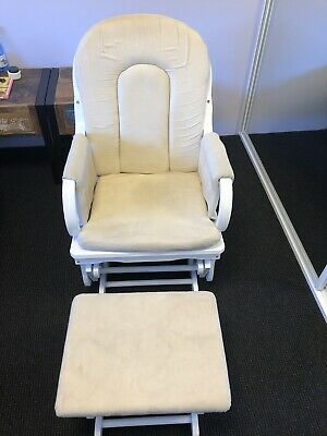 Glider Feeding Chair With Ottoman