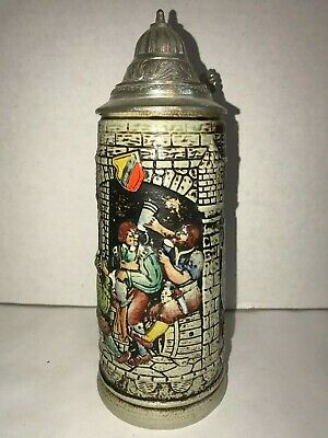 West German Gerz Beer Stein - Pristine and Beautiful - Bar Decor or Collectible