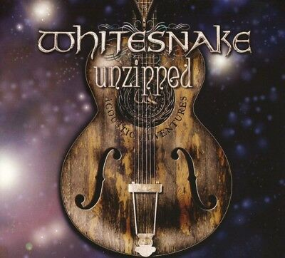 WHITESNAKE - UNZIPPED (DLX) (2018, CD) New!!