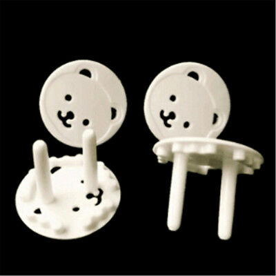 20pcs Baby Kids Electric Socket Outlet Safety Protection Safe Lock Cover Plug FE