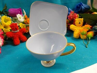 Lovely Duo Set - Fine China Westminster Australia 247 Gold Rim Ex Cond # 33