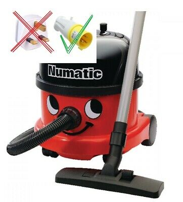110v COMMERCIAL HENRY VACUUM CLEANER Numatic 1200w MISSING STICKS NRV200