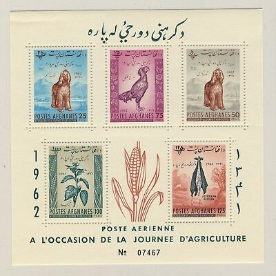 AFGHANISTAN - 1962 - Mi.Block-23A Agriculture Day (perforated) **