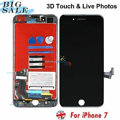 Replacement Black For Apple iPhone 7 LCD Display Digitizer Touch Screen Assembly