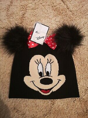 906347476 PRIMARK OFFICIAL DISNEY Minnie Mouse Ears Baseball Cap Black ...