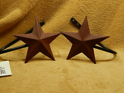 Metal Red Star Curtain Tie Back Set of 2
