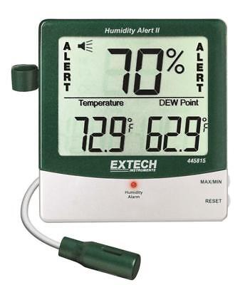 Extech Humidity Meters 445815 With Alarm And Remote Probe NEW in Package