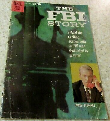 The FBI Story Four-Color 1069 (VG+ 4.5) 1959 Toth, photo cover! 30% off Guide!