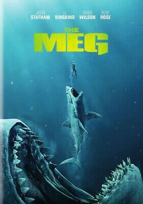 The Meg DVD - Disc Only USA Seller Fast Shipping 🚀