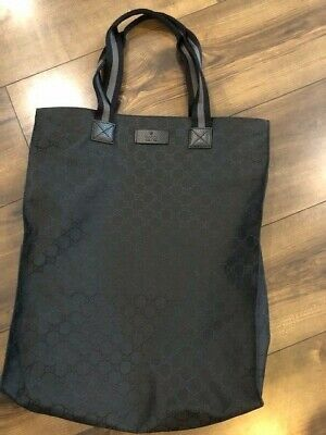 076f695f9d Brand new Gucci large shopper tote bag GG logo,leather canvas,dustbag, authentic