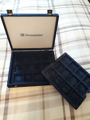 Coin Presentation Case **Holds 24 Total** 1Oz Silver Rounds/Crowns