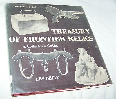 Treasury of Frontier Relics HB w/dj-Les Beitz-1977-142 pages-Library book