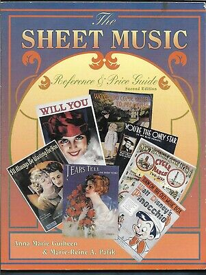 Sheet  Music Price Guide PB-Guiheen, Pafik-1995-320 pages-2nd Edition