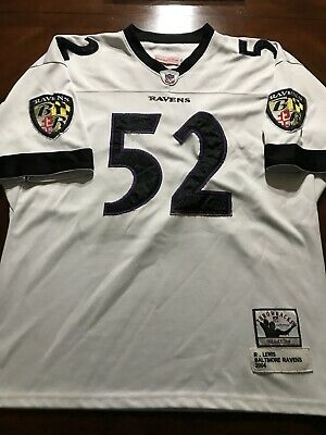 promo code 83d27 3d607 100% AUTHENTIC RAY Lewis Mitchell & Ness 2000 Ravens NFL ...