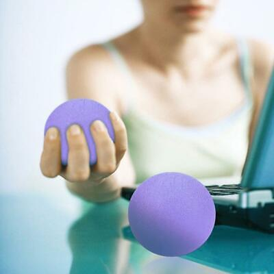 Massage Therapy Grip Ball Silicone Hand Finger Strength Exercise Stress Super