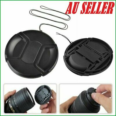 37-86MM Camera Snap-on Front Lens Cap Cover For Canon Nikon Sony Pentax Olympus