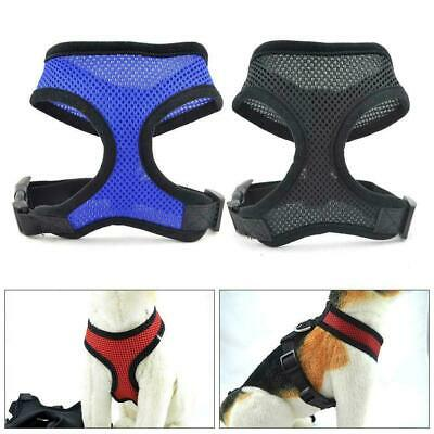 Mesh Harness Pet Control for Dog & Cat Soft Walk Collar Safety Strap Vest Gift H