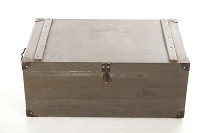 Beautiful Old Wooden Box Crate Art Deco Vintage Design Box Materialkiste