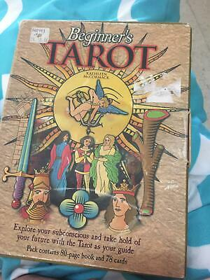 Beginners tarot 78 cards in French by Kathleen McCormack