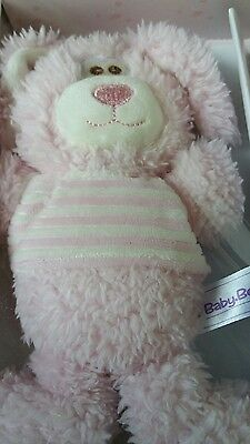 Girls  Pink  Bunny Baby Rattle New