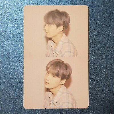 Suga - Official Photocard BTS Map Of The Soul : Persona Genuine Kpop