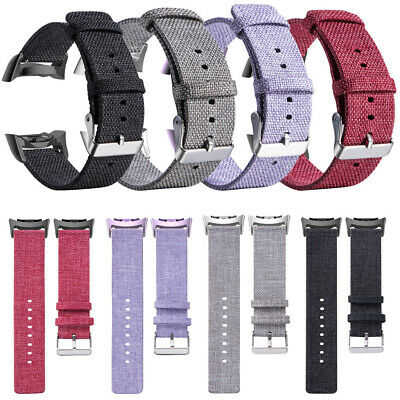 For Samsung Gear Fit2/Fit2 Pro Replacement Woven Fabric WristBand Strap Watch