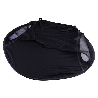 Useful Canopy Black Baby Sunshade Cape Stroller Screen Pushchair Shade Anti-UV