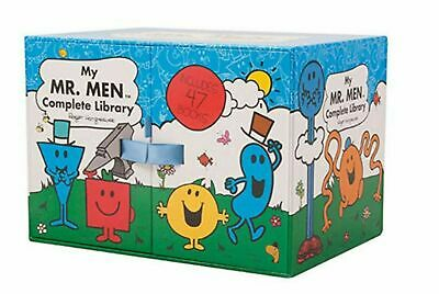 BRAND NEW Mr Men Complete Library Set 47 Books Entire Collectors' Collection Box